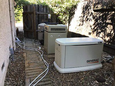 Home generator in Lincoln, CA